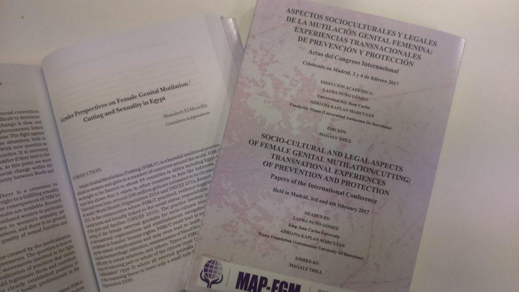 Publicadas las actas del I Seminario Internacional MAPFGM (Programa Académico Multisectorial de Prevención y Lucha contra la Mutilación Genital Femenina).